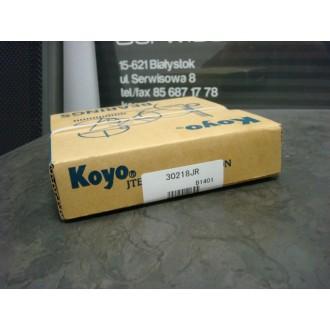 Łożysko stożkowe jednorzędowe 30218 JR KOYO