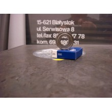 Łożysko kulkowe proste jednorzędowe 6000 ZZ C3 Kinex