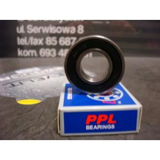 Łożysko kulkowe proste jednorzędowe 6001 2RS PPL