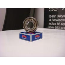 Łożysko kulkowe proste jednorzędowe 6206 ZZ PPL